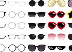 眼鏡・サングラス 25種
